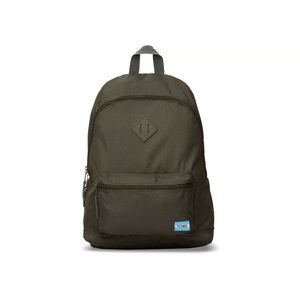 Toms local vegan backpack olive Nwt